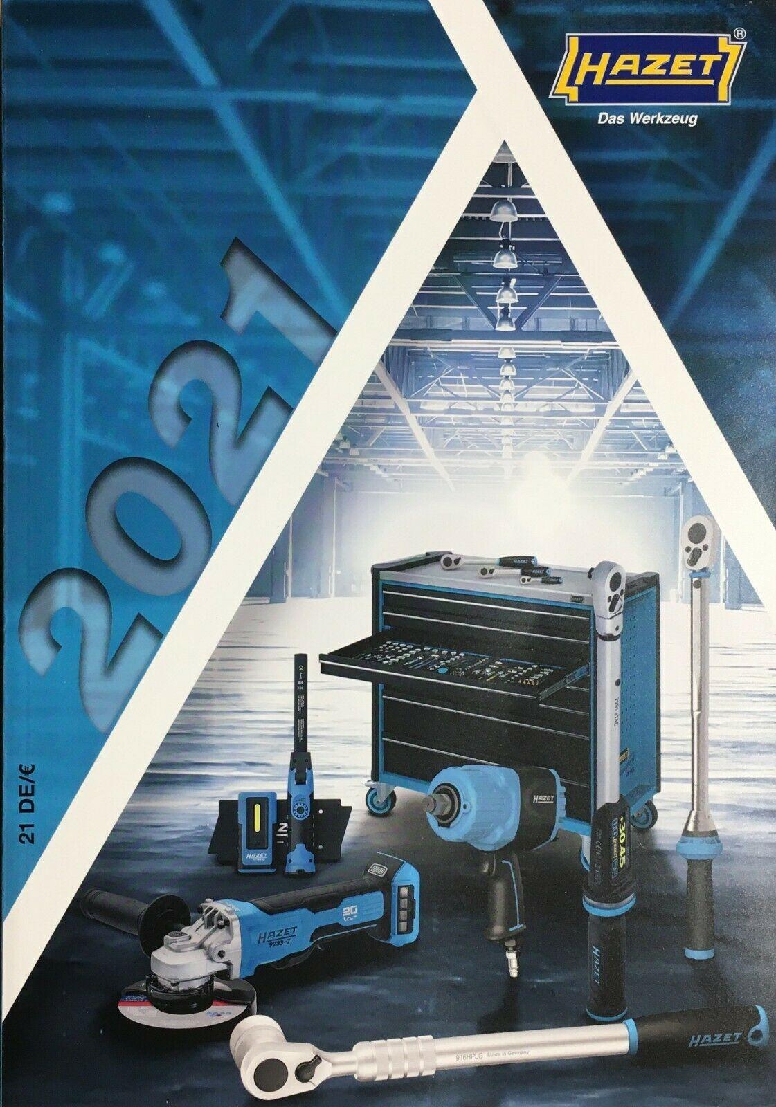 Hazet Gesamt Katalog 2021 Werkzeug Preise Handbuch 504 Seiten